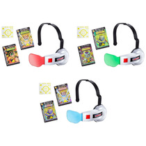 Dragon Ball New York Comic Con Saiyan Scouter Set 3 Lentes