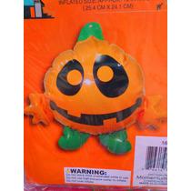 Halloween Figura Inflable De Calabaza