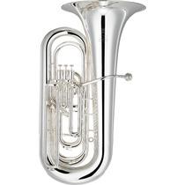 Tuba De Concierto Yamaha Neo 3 Pistones Superior 1 Lateral