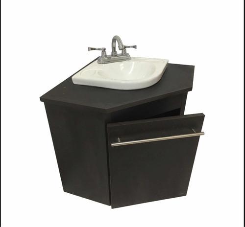 Mueble Lavabo Esquinero.Mueble De Bano Esquinero Suspendido Ahorra Espacio C Lavabo