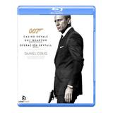 007 James Bond  Daniel Craig Actor Pack 3 Peliculas Bluray