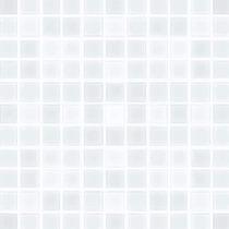 Mosaico Veneciano Cristal Brillo 4mm Mallas Cuadros Blancos