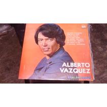Acetato Alberto Vazquez Con Mariachi Disco De Color