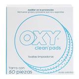 Oxy Pads® Toallas Limpiadoras Saturadas De Solución Medicada, Remueve Grasa Y Previene Barros Y Espinillas