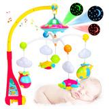 Cuna De Bebé Con Proyector 3 En 1, Con Música ,unisex