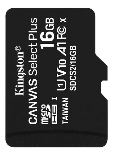 Memoria Micro Sd 16gb Kingston 100mb/s Clase 10 Original