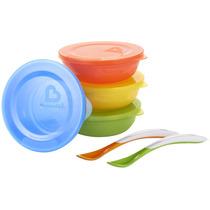 Plato Para Niños Love A bowls Munchkin 4 Pzs