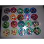 Coleccion Completa 20 Tazos Lenticulares De Disney