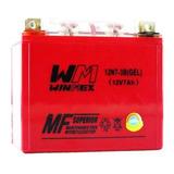 Bateria De Gel 12n7-3b Italika 170z,atv-150-180,ft-150,dt150