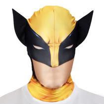 Máscara Wolverine - Adultos Xmen Morph Marvel Comic One Size