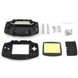 Carcasa Completa Negra De Gba Gameboy Advance Retro