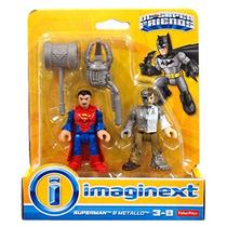 Imaginext Dc Super Friends Superman & Metallo