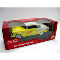 1955 Chevy Bel Air Coca Cola Johnny Lightning 1/18