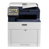 Impresora A Color Multifunción Xerox Workcentre 6515 Con Wifi 220v - 240v Blanca Y Azul