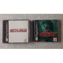 Metal Gear Solid Y Vr Missions Ps1! Paquete Playstation Mgs