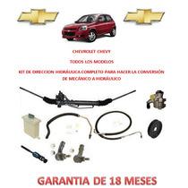 Kit Direccion Hidraulico Completo Original Chevrolet Chevy