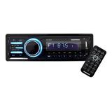 Auto Estereo Bluetooth Carro Amplificado Usb Sd Radio Fm Control Accesorios