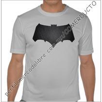Playera Batman V Superman Dawn Of Justice Plata Ec Wnuf