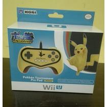 Pokemon Pokken Tournament Pikachu Pro Pad Nintendo Wii U