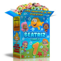 Kit Imprimible Fiesta Infantil Bubble Guppies Compra Ya!