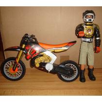 Muñeco Con Moto Action Man Super Sport Con Moto100% Original