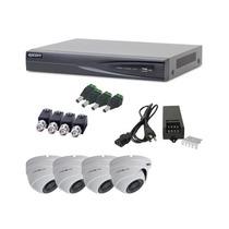 Kit Epcom Turboe84 Dvr Ev1004 Y 4 Cam Domo E8 Turbo 1080p