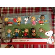 Snoopy Set De 10 Diez Figuras De Colección