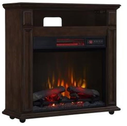 Mueble calefactor chimenea el ctrica 80cm cuarzo - Mueble para chimenea electrica ...