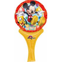 5 Globos Metálicos De 9 Pulgadas De Mickey Mouse, Fiesta