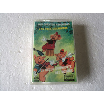 Mis Cuentos Favoritos Cassette Audiolibro 3 Cochinitos