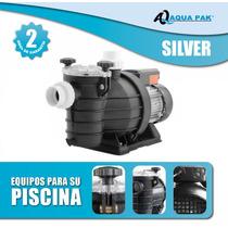 Bomba Para Piscinas Silver 1 Hp Valvula Gratis Oferta