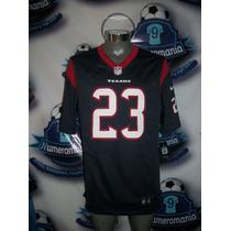 Jersey Oficial Original Nike Nfl Texas Houston Mediana #23