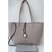 Bolsa Para Dama Guess Style Dd625124 Color Gris