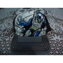 Gorra De Batman Dc Comics Original Ajustable Etiquetada