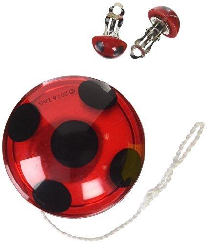 minorista online b6e2c 38986 Rubies Miraculous Ladybug Set De Accesorios Yoyo Y Aretes en ...