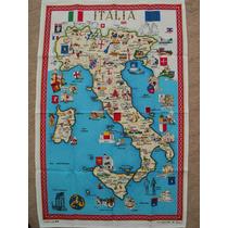 Mantel Cuadro Italia Souvenir Recuerdo Italiano 56x 89 Cent.