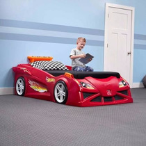 Cama Carro Hot Wheels Convertible Niño Cama Individual
