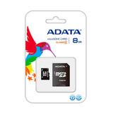 Adata Memoria Micro Sd Hc 8gb Clase 4 Celulares 4mb Original