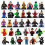 Super Heroes De Marvel Dc Y Diversos Personajes Para Armar