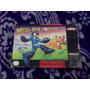 Mega Man Megaman Soccer  Snes Super Nintendo Caja Instructiv