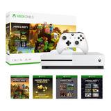 Consola Xbox One S 1tb 4k Blu-ray Control Bundle Juego Nueva Original