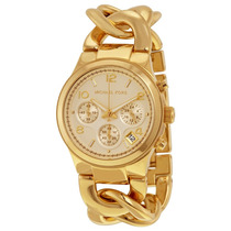 Reloj Michael Kors Mk3131 Dorado Original **envio Gratis**