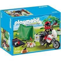 Playmobil 5438 Moto Tienda Campaña!! Entregas Metepec Toluca