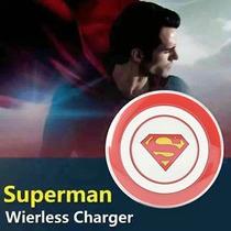 Cargador Inalambrico Super Man Samsung S7 Edge S6 Edge