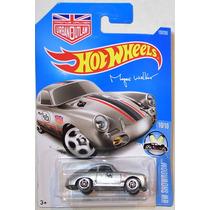 Hot Wheels 2016 Porsche 356a Outlaw Hot Wheels Plata