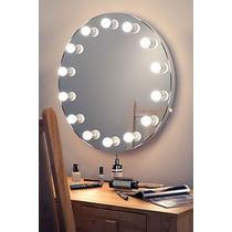 Espejos Con Focos Para Maquillaje Con Luz Led Tipo Hollywood