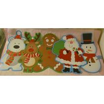 Navidad Decoracion Reno Oso Santa Nieve