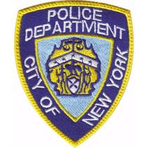 Nueva York Policia Parche Bordado Rescate Paramedico
