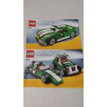 Lego 6743 Street Speeder Creator Instructivo Manual