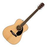 Fender Cc-60s Guitarra Acústica Acabado Natural  0961708021